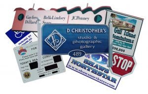 Custom signs and vehicle wraps
